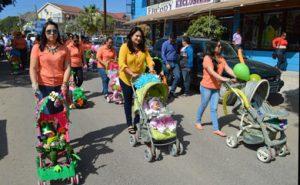 colorido desfile de primavera