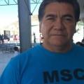 Alí Flores, representante del Movimiento Sindical Cabeño en San José del Cabo.