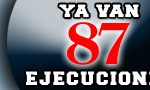 87 ejecuciones