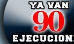 90 ejecuciones