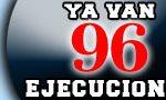 96 ejecutados