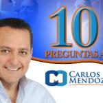 10 preguntas a Carlos Mendoza