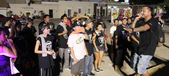 hip hop en la plaza Antonio Mijares