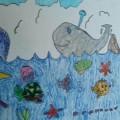 Niño y la mar