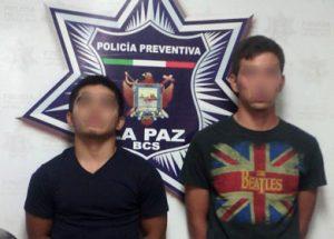 Jonathan Giovani Téllez Martínez y Alejandro Teófilo Montejano.