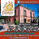 Hotel Posada de las Flores - Loreto, B.C.S.