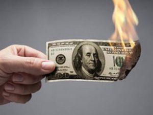 quemo su dinero