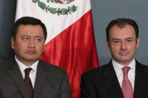 Osorio Chong y Videgaray.