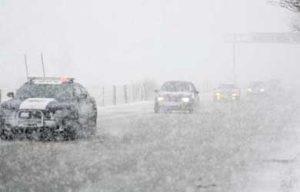 nevadas en 4 municipios de Sonora