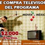 Se compra televisor del programa