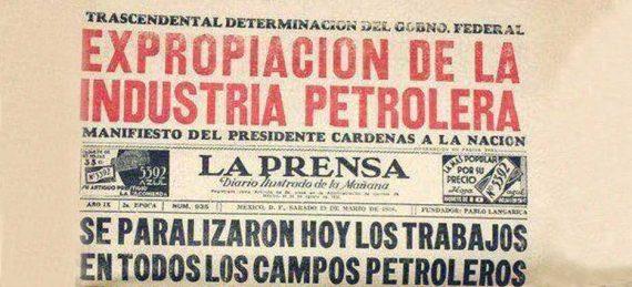 La expropiación petrolera