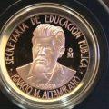 medalla Ignacio Manuel Altamirano