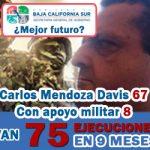 Van 75 ejecuciones... (con apoyo militar)