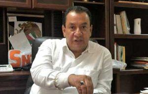 Nicolás Gutiérrez Domínguez, Secretario General de la Sección 3 del SNTE.