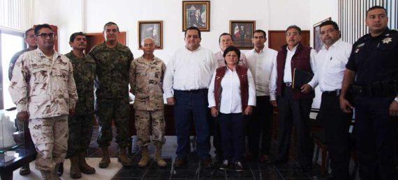 Grupo de Coordinación de Seguridad.