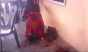 Una mujer nigeriana dio a luz a una extraña criatura