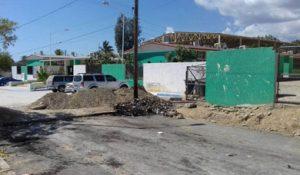 acceso principal a la escuela primaria Ejido San José