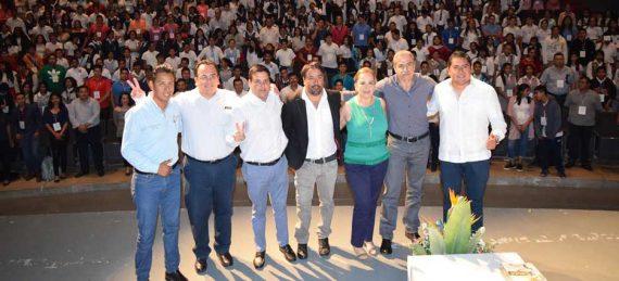 """inauguración del 2do. Congreso Juventud Los Cabos 2017 """"Crea experiencias, conecta tu mundo"""","""