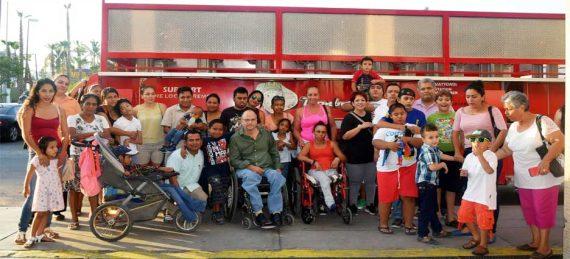 niños y personas con discapacidad