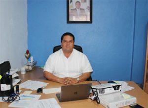 El director general de Fomento Económico, Turismo, Desarrollo Rural y Pesca en Los Cabos Víctor Manuel Carbajal Ayala
