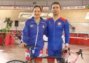 Yuli Paola y Edgar Ismael Verdugo Osuna, lograron una destacada actuación en el Campeonato Panamericano Elite de Ciclismo de Pista