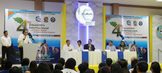 Entre el 22 y 24 de noviembre se llevará a cabo en la UABCS el 4to Encuentro Internacional en Ciencia Animal de Zonas Áridas Costeras.