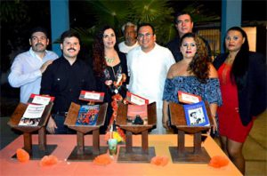 """Presentación de los escritos """"Relatos y Leyendas de Baja California Sur, que presenta el joven escritor Gamaliel Valle Hamburgo"""