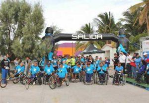 Primera Carrera por la Inclusión en la ciudad de La Paz