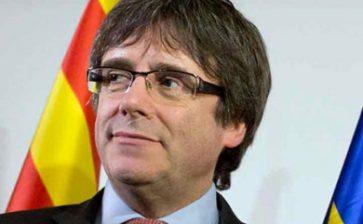 Detienen a Carles Puigdemont