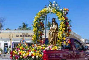 procesión y las mañanitas al Santo Patrono San José
