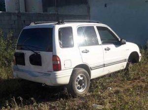 vehiculo robado