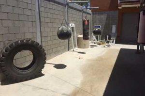 gimnasio de box comunitario