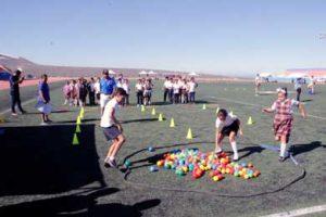 """1er. Rally Matemático """"La Educación Física y las Matemáticas"""" en la Unidad Deportiva Don Koll."""