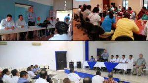 instalaron los Consejos Delegacionales de Protección Civil en la zona norte del municipio