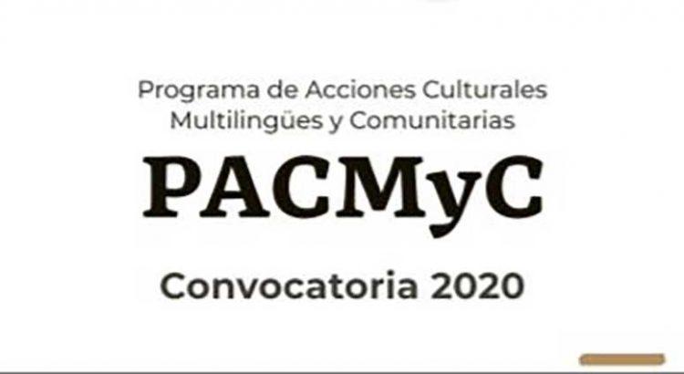 Dan a conocer los proyectos aprobados por PACMYC