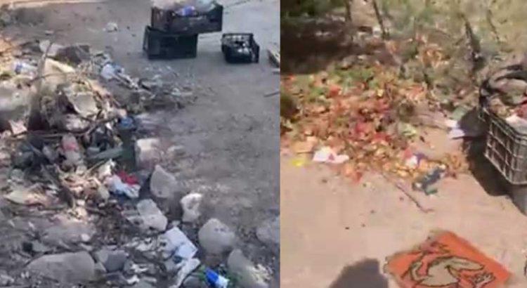 Sigue acumulándose la basura en El Centenario