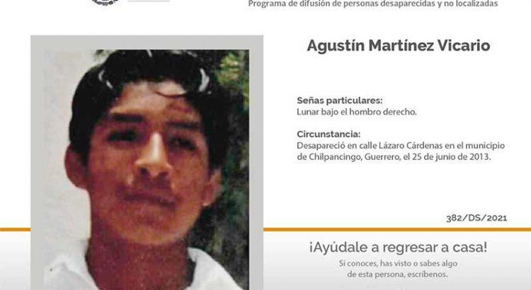 ¿Has visto a Agustín Martínez Vicario?