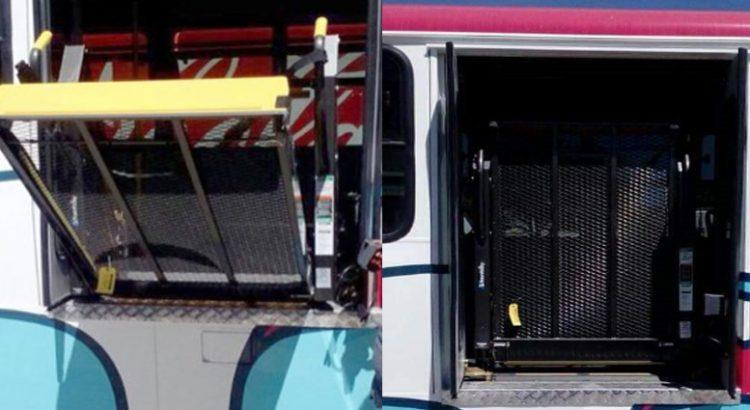 Faltan autobuses urbanos para personas con discapacidad