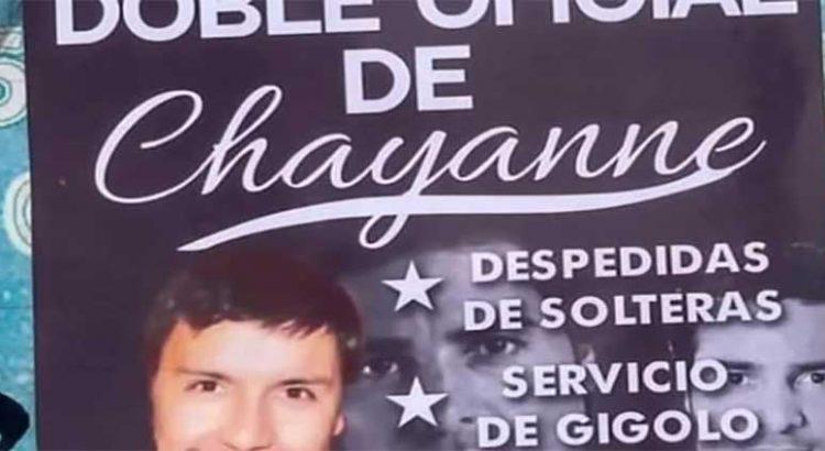 """Se renta como el """"doble de Chayanne"""""""