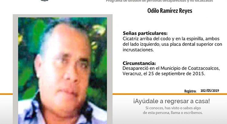 ¿Has visto a Odilo Ramírez Reyes?