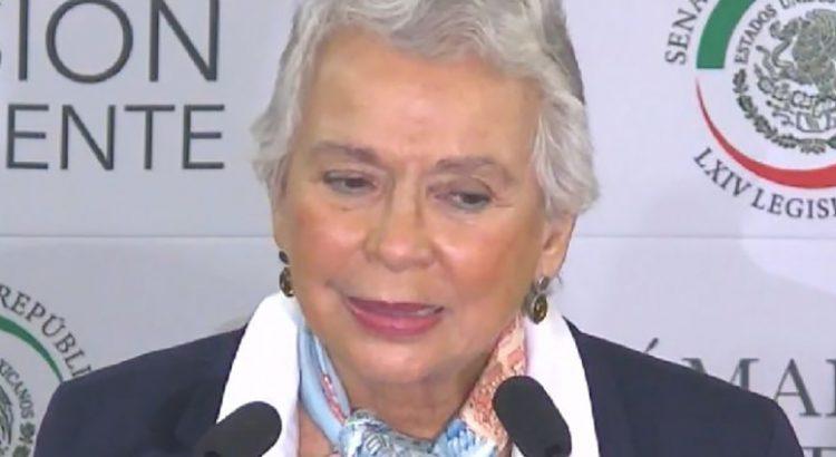 """""""Un reto"""" para Sánchez Cordero presidir el Senado"""