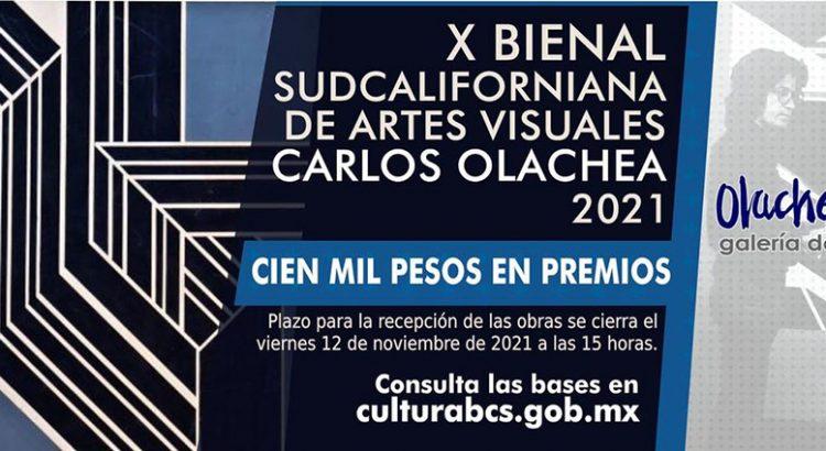 Convocan a la X Bienal Carlos Olachea