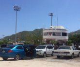 Convirtieron policías estacionamiento de estadio en corralón